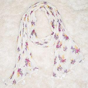 Floral Aerie scarf 🌸🌻🏵